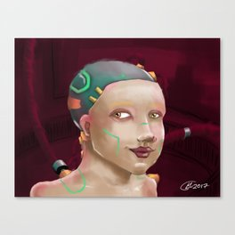 Plugged In Canvas Print