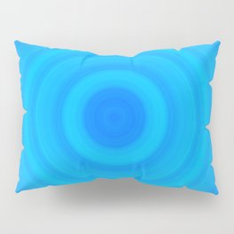 Blue Circles Pillow Sham