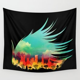 In Flying Colours Wall Tapestry