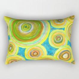Circular Sky Lights Rectangular Pillow