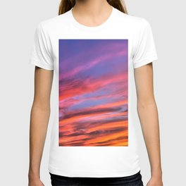 colorful clouds x T-shirt