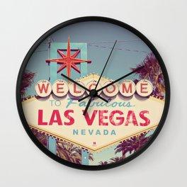 Welcome to fabulous Las Vegas Wall Clock