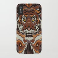 tigers iPhone & iPod Cases featuring Tigers by Darish