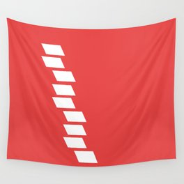 Red Wall Wall Tapestry