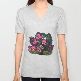 Elegance (Botanical Bliss) Unisex V-Neck