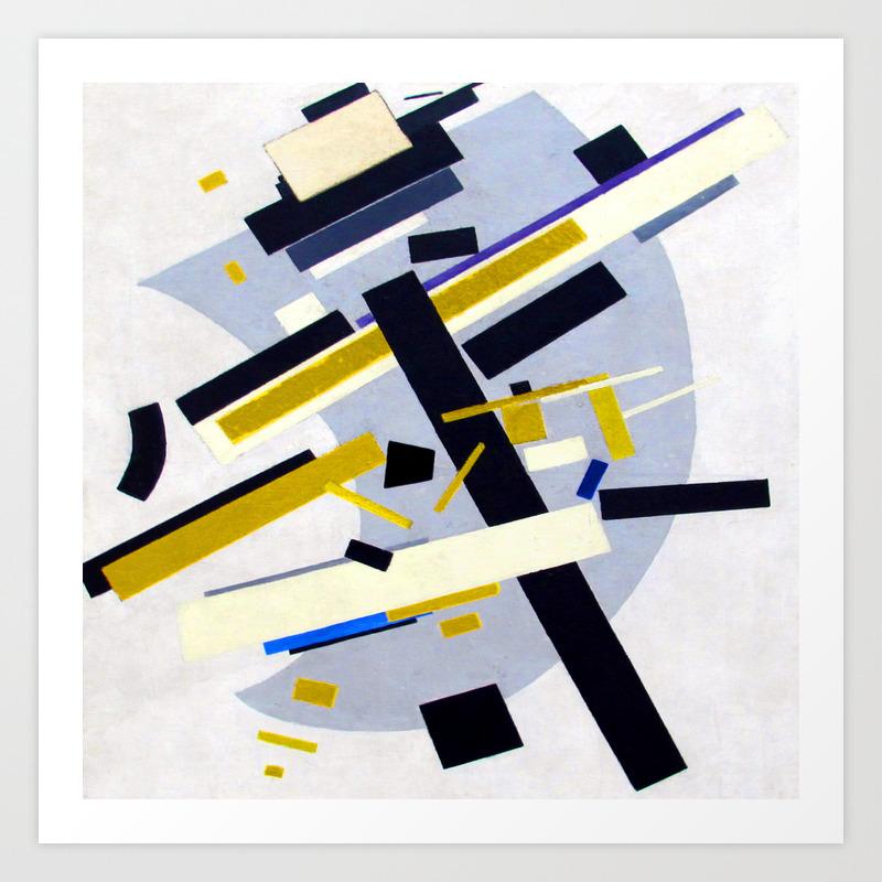 Kazimir Malevich Suprematism 58 Art Print by jjbzz | Society6