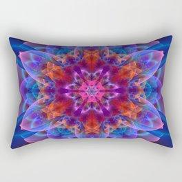 The power of one Flower Rectangular Pillow