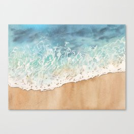 The ocean is calling Canvas Print