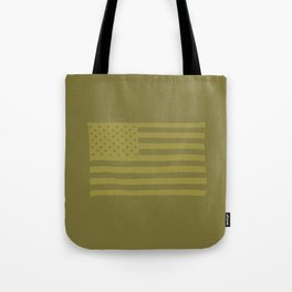 American Flag Piedmont Tote Bag