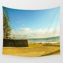 Fresh- Alex Headland, Sunshine Coast, Australia Wall Tapestry