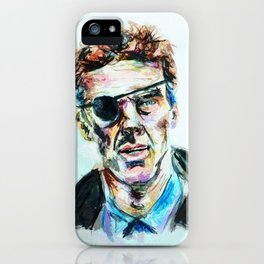 Patrick Melrose - Watercolour/Digital Painting iPhone Case
