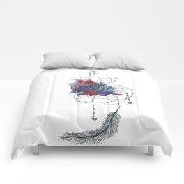 I Create Myself/ Bad Wolf Dream Catcher Comforters