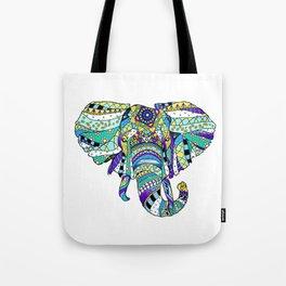 Éléphant royal Tote Bag