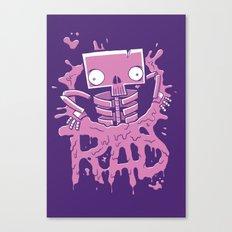 Rad Poster Canvas Print