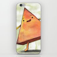 pyramid iPhone & iPod Skins featuring Pyramid by Pumpkin Snipes