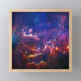 New View of Milky Way Framed Mini Art Print