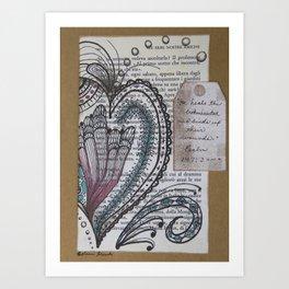 """""""He Heals the Broken Hearted"""" Art Print"""