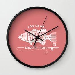 Fishin' Fo' Life Wall Clock
