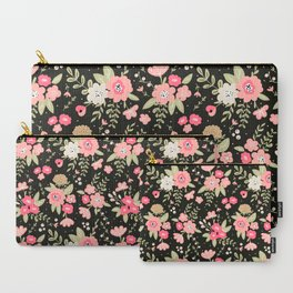 Colorful floral bouquet Carry-All Pouch