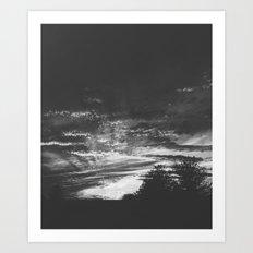 The Night Lands Art Print