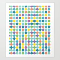 Polka Dots Art Print
