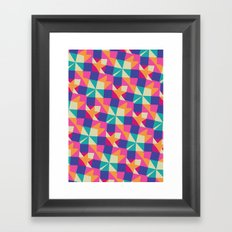 NAPKINS Framed Art Print