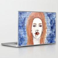 lana Laptop & iPad Skins featuring Lana  by Calamus Ying Ying Chan