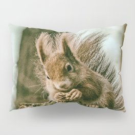 Red squirrel Pillow Sham
