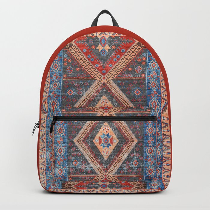(N16) Boho Moroccan Oriental Artwork for Rustic and Farmhouse Styles. Backpack