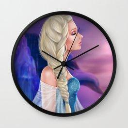 Elsa Wall Clock
