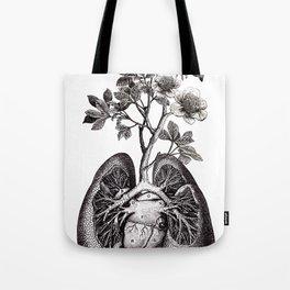 Flourishing Lungs Tote Bag