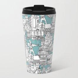 NOTTINGHAM BLUE Travel Mug