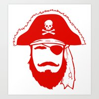 Who wants to be a Pirate?!? Art Print