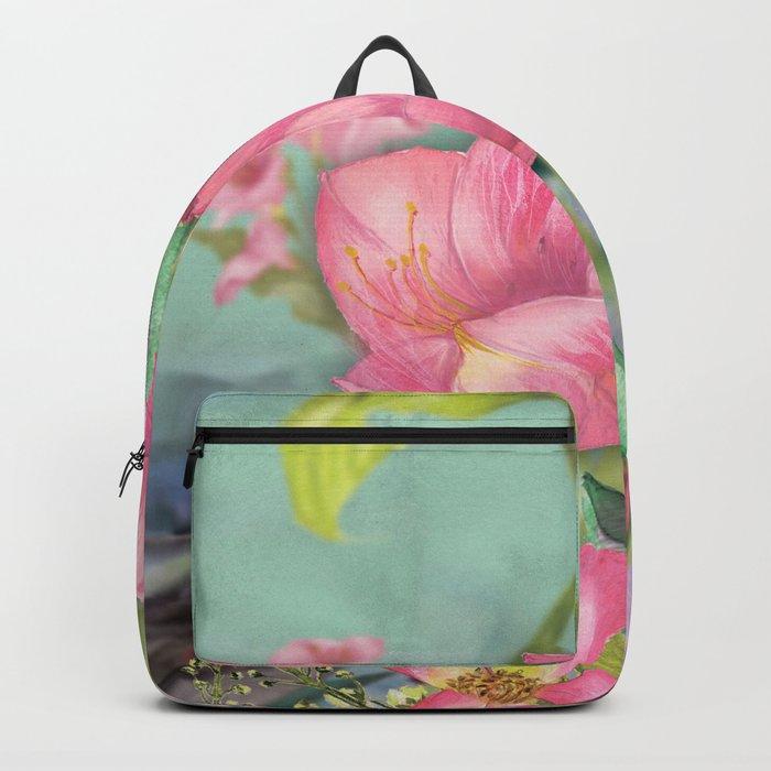 Macro Flower #21 Backpack