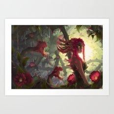 Rosa Canina Art Print