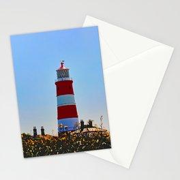 Happisburgh Lighthouse portrait Stationery Cards