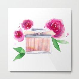 Rose Perfume Metal Print