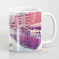 maine Mugs featuring Portland Maine by ELIZABETH THOMAS Photography of Cape Cod