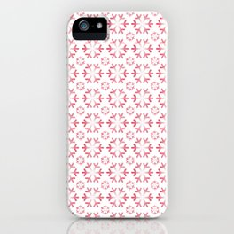 Holiday Snowflakes iPhone Case