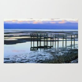 Dock at Low Tide Rug