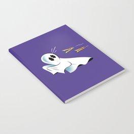 A Fearful Phantom (Purple) Notebook