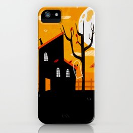 A Haunting We Will Go iPhone Case