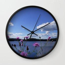 Summer day in Canada Wall Clock