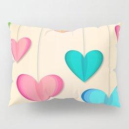 Hangin Hearts Pillow Sham