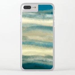 Cloudy Sky Clear iPhone Case