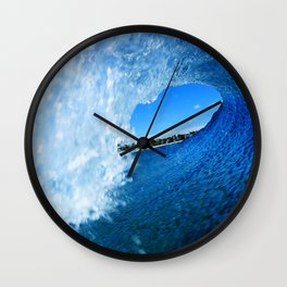 Surfing Costa Rica Inside Out Wall Clock