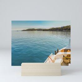 Greece Ocean Sailing Mini Art Print