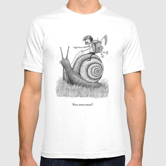 'Full Speed Ahead!' T-shirt