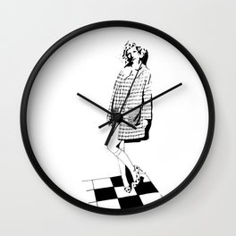 Grayson Perry - I feel pretty Wall Clock