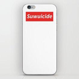 Suwuicide 1 iPhone Skin